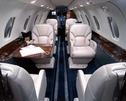 Citation X Interior