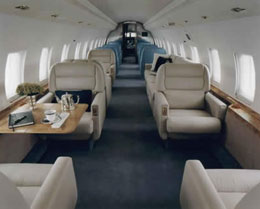 Global Express XRS Interior