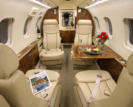 Learjet 45XR Interior
