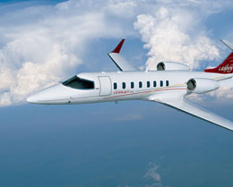 Learjet 45XR Exterior