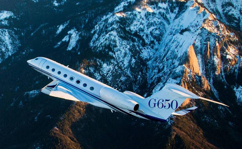Gulfstream G650 Private Jet Charter, Hire Costs, and Rental