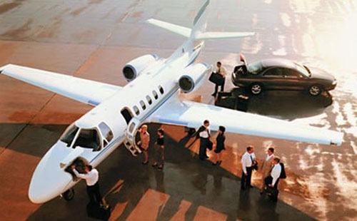 Private Jet to take you to your event