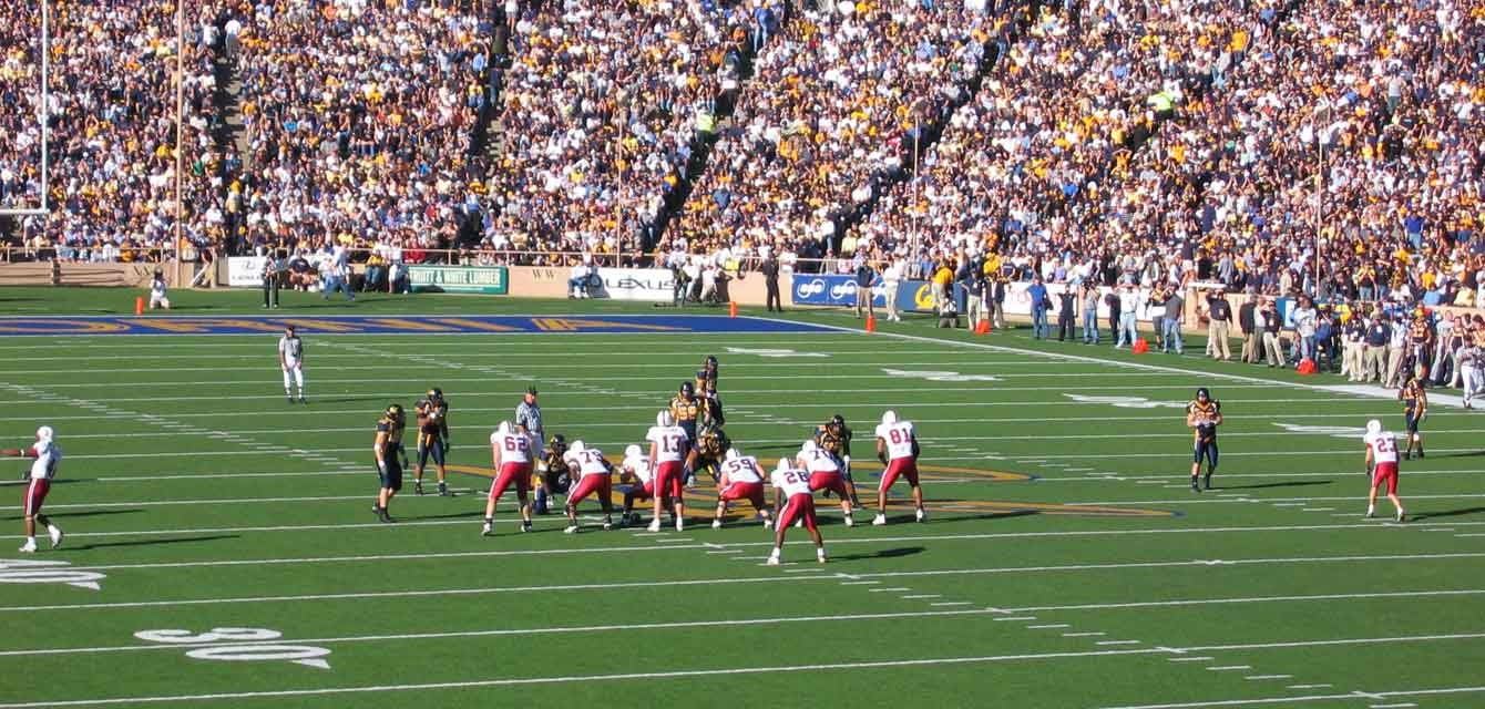 Berkeley Golden Bears - Stanford Cardinals Game