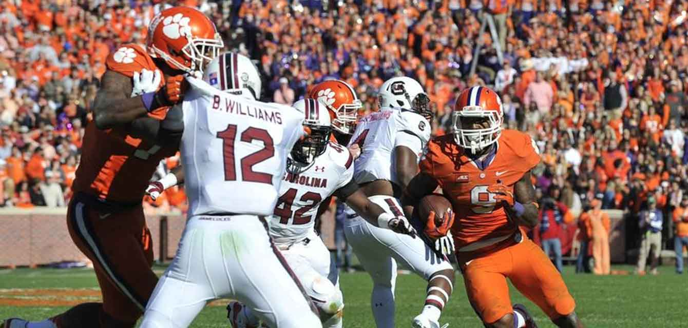 Clemson Tigers - South Carolina Gamecocks Game