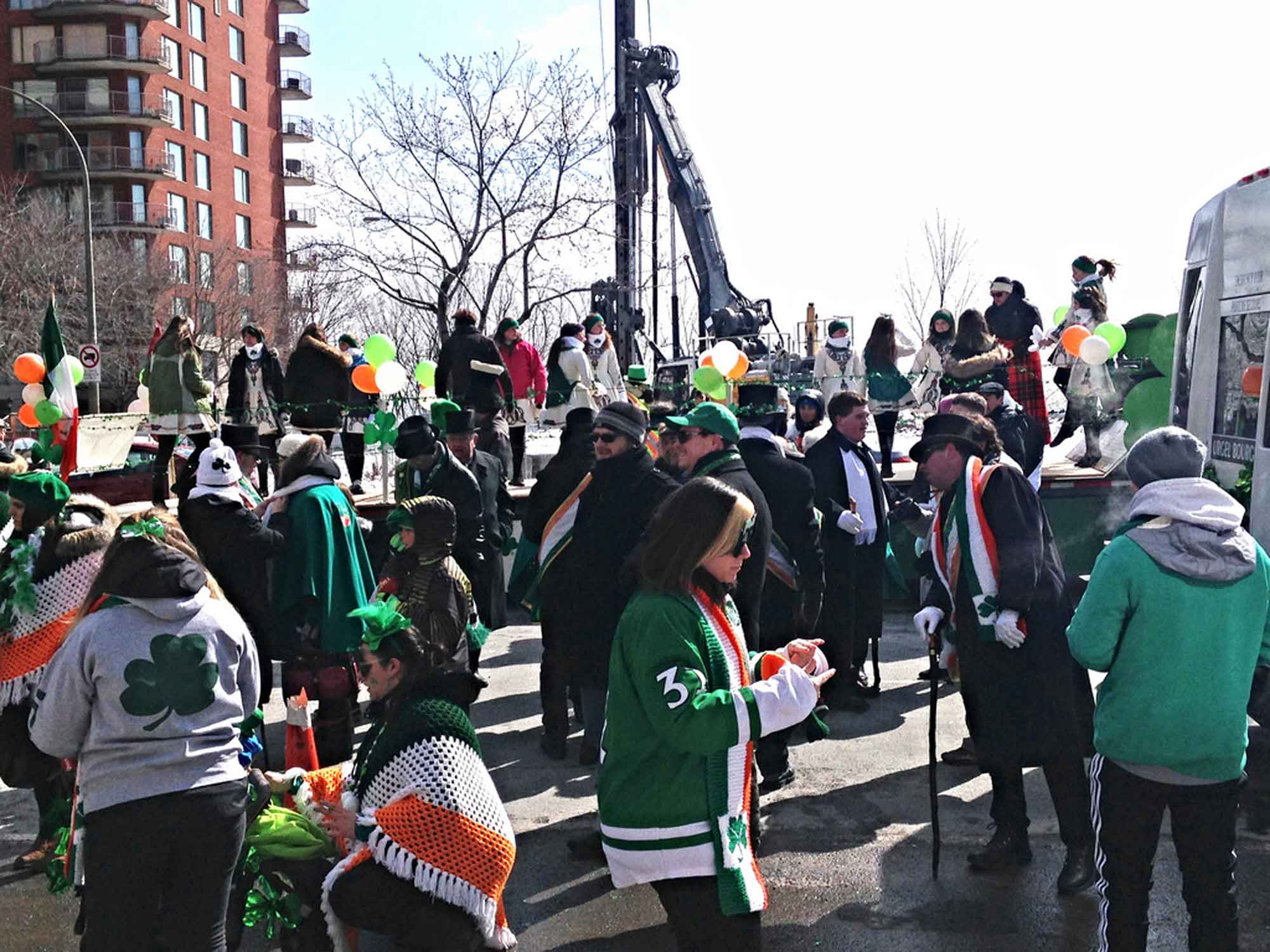 St. Patrick's Day - Montreal
