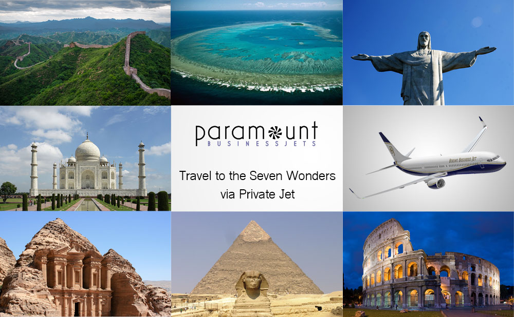 Seven Wonders by Private Jet