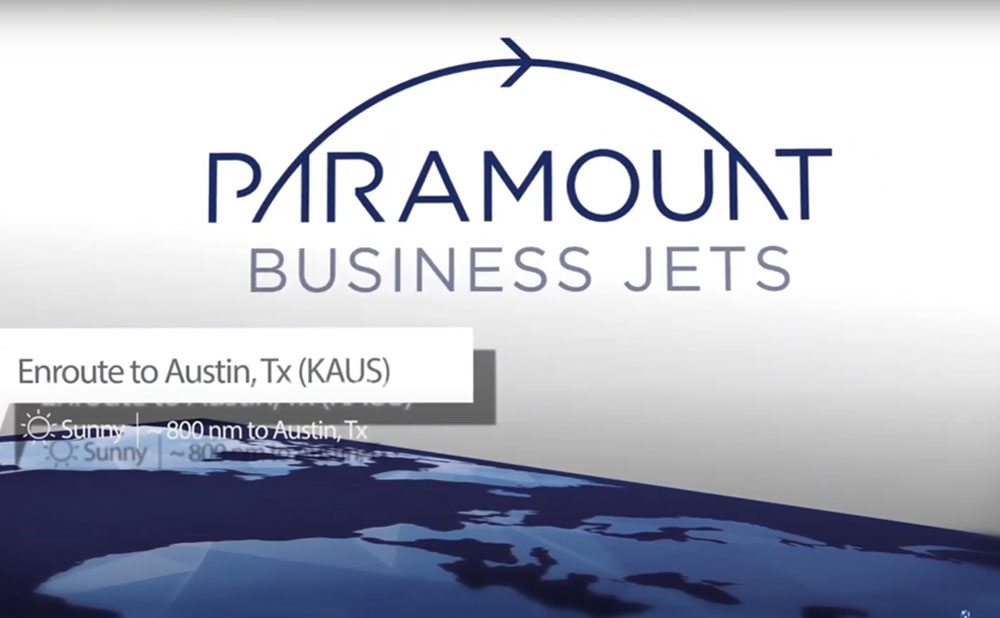 Paramount Business Jets to Sponsor Round-the-World Flight
