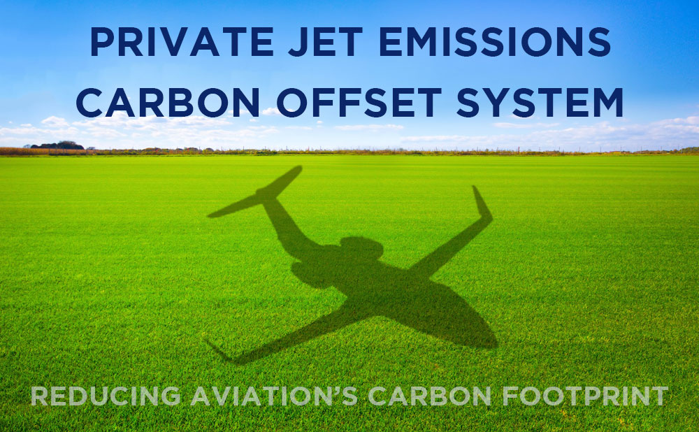Paramount Business Jets Offers Carbon Offset Tool