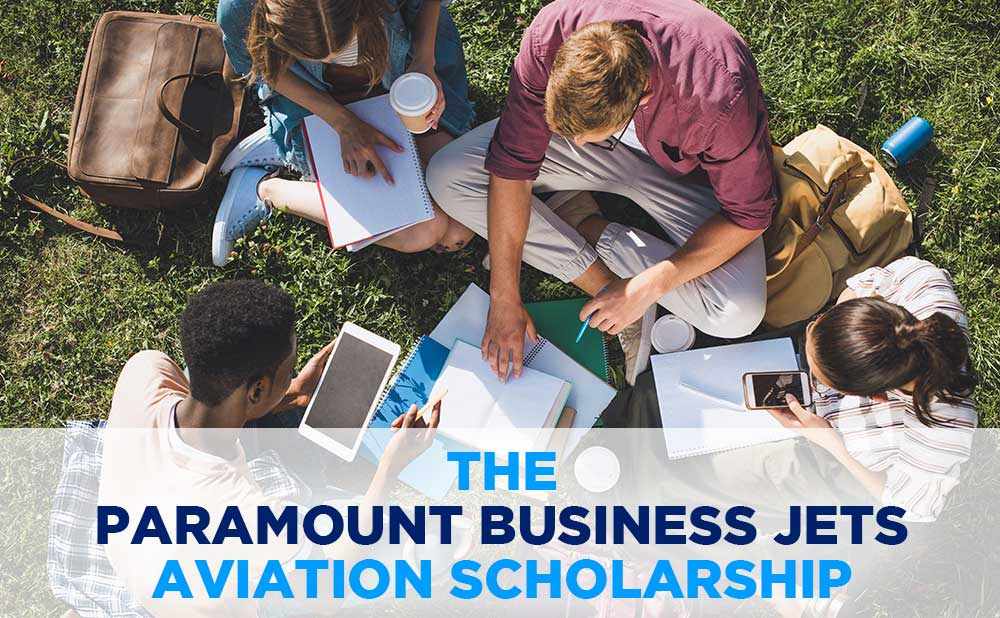 Paramount Business Jets Supports Scholarship Opportunities