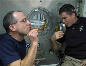 Drinking Coffee in Space