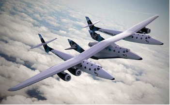The WhiteKnightTwo and SpaceShipTwo