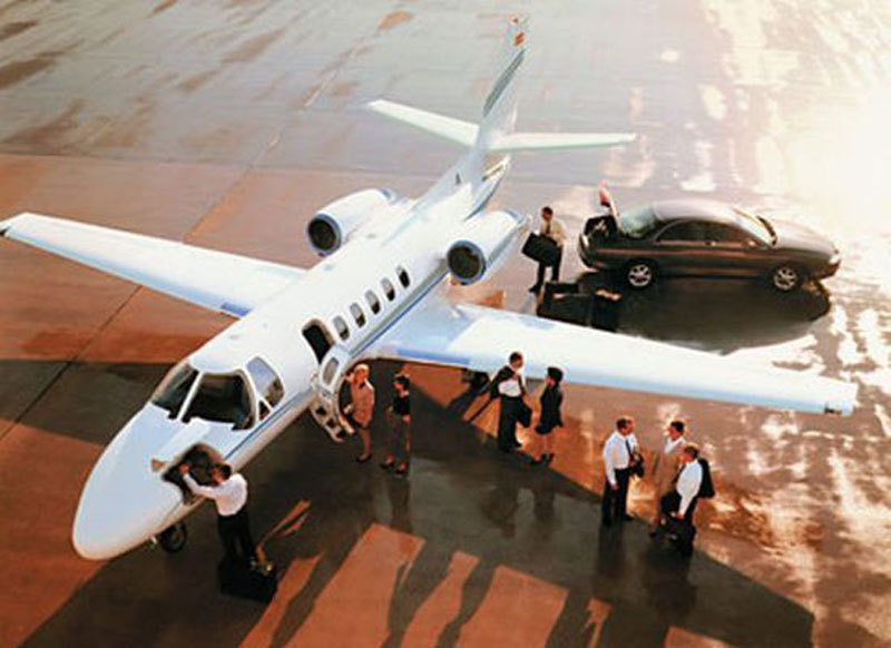 Trusted Park City Jet Charter Company since 2005
